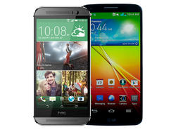 HTC One (M8) vs. LG G2 Spec Shootout