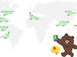LINE Launches Calling Service Starting at 2 Cents per Minute