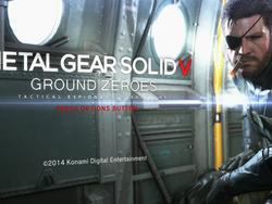 Screenshot Saturday - Metal Gear Solid V: Ground Zeroes