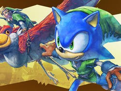Sonic Lost World Gets Crazy Zelda Crossover DLC