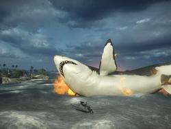 Battlefield 4 Players Find the Megalodon Shark