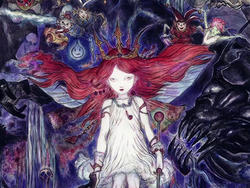 This is Child of Light's Art, Done by Final Fantasy's Yoshitaka Amano