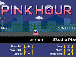 Kero Blaster Prequel, Pink Hour, Released for Free on Playism