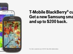 T-Mobile Offers BlackBerry Users $200 to Upgrade to Samsung