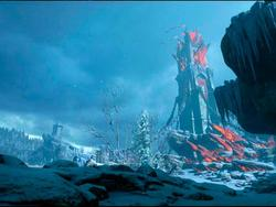 Dragon Age: Inquisition Leaked Screenshots - The Snow Caps of Emprise Du Lion