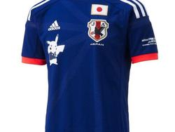 Pikachu is on the Jersey of the Japanese National Soccer Team