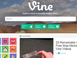 Vine Launches Totally Redesigned Homepage