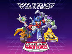 Angry Birds and Transformers Teaming Up for a New Game