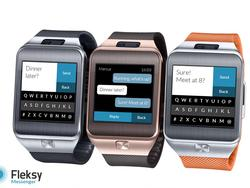Fleksy Lets You Text From Your Gear 2 Smartwatch