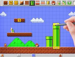 Mario Maker Levels can be Shared