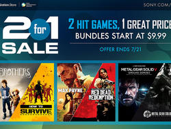 Sony 2 for 1 Sale this Week on PlayStation Network