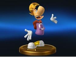 Rayman To Appear in Super Smash Bros, but Only as a Trophy