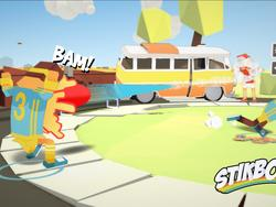 Stikbold is a Dodgeball Game, and It Looks Ridiculous