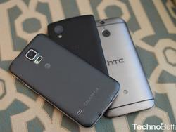 Top 5 Android Smartphones - July 2014