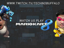 We're Live on Twitch! Watch Us Play Mario Kart 8!
