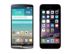 iPhone 6 vs. LG G3 Spec Shootout