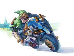 Epona is for Babies, Check Out Link's Sweet New Ride in Mario Kart 8