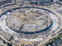 New Photos and Video of Apple's Spaceship Campus Construction Revealed