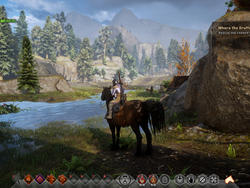 Dragon Age: Inquisition Screenshots Come Straight from the Horse's Mouth