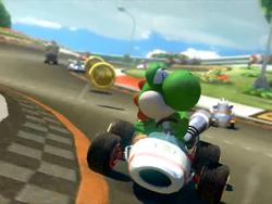 Mario Kart 8's absurd 200cc shown off on Piranha Plant Pipeway