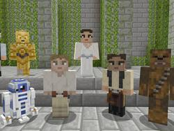 Minecraft Gets Massive Pack of Star Wars Skins on Xbox