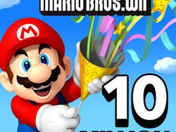 New Super Mario Bros. Wii Sells 10 Million Copies in the US