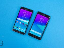 Galaxy Note Edge vs. Galaxy Note 4: A Comparison In Pictures
