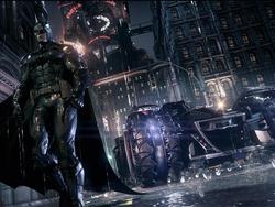 This Batman: Arkham Knight video features all PS4 gameplay