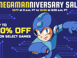 Megamanniversary Sale Going On All Weekend From Nintendo
