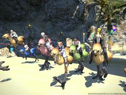 Final Fantasy XIV: A Realm Reborn Gold Saucer screenshots