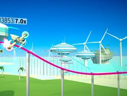 """FutureGrind for PS4 and PC gets a trailer - """"Uniracers meets OlliOlli"""""""