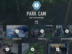 """'Jurassic World' Website Gets Creative With """"Live"""" Camera Feeds"""
