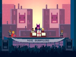 Not A Hero's fresh gameplay trailer is the good kind of absurd