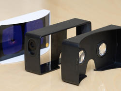 "LG reveals free ""VR for G3"" Google Cardboard-based headset"