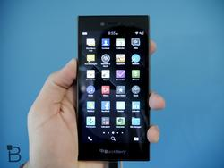 BlackBerry Leap makes its global debut