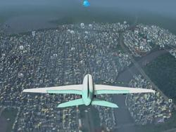 Cities: Skylines now has a mod that lets you fly planes over your city