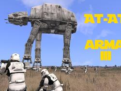 Witness the firepower of this fully armed and operational AT-AT in Arma 3
