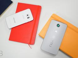 Galaxy S6 Edge vs. Nexus 6: Two devices that couldn't be more different