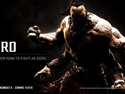 Goro joins Mortal Kombat X as a pre-order bonus, NSFW trailer