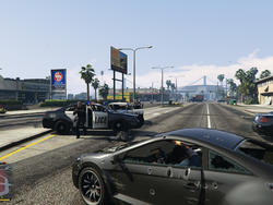 This GTAV mod makes wanted levels and police actions more realistic