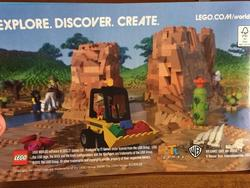LEGO Worlds advert leaks potential Minecraft competition