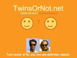 """Twins Or Not?"" is Microsoft's latest goofy photo scanning tool"