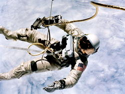 Celebrate the first American spacewalk with these amazing photos