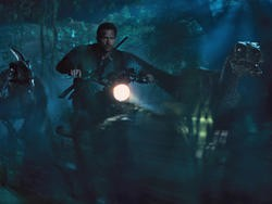 Jurassic World rules the box office for a second weekend