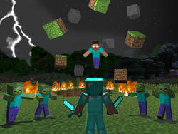 Minecraft's combat system is being changed, charged attacks incoming