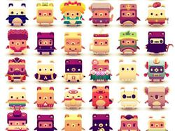 Alphabear is a mobile word puzzle game, and it's my latest addiction