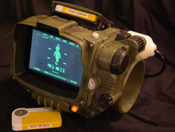 3D-print your own Fallout 4 Pip-Boy, fight the man, schematics inside
