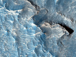 Incredible image of Mars proves the planet isn't just a sea of red
