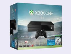 This 1TB Xbox One comes bundled with Madden 16 and 1 year of EA Access
