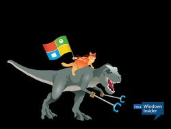Hilarious Windows 10 Ninjacat wallpapers released by Microsoft